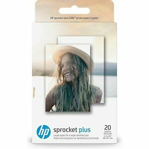 "NEW! HP Photo Paper for HP Sprocket Plus | 2.3"" x 3.4"" 