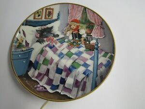 Kaiser W. Germany Little Red Riding Hood Decorative Plate