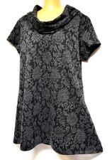 plus sz S/ 16 TS TAKING SHAPE Textured Jacquard Tunic warm winter top NWT rp$110