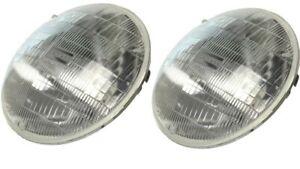 2 12v Halogen headlights for Studebaker Avanti 1963-1973 Replace Dim Bulbs