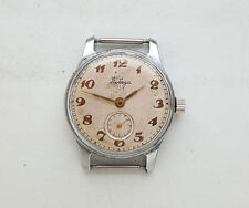 Vintage Russian mechanical watch POBEDA. USSR.