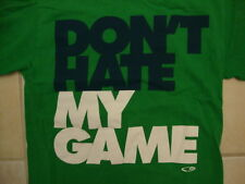 Champion Don't Hate My Game Athletic Apparel Sports Green T Shirt S