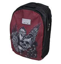 Sullen Session Eternal Skull Eagle Snake Punk Rock Art Tattoo Book Bag Backpack