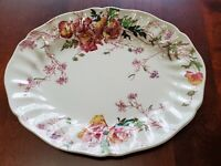 VINTAGE ROYAL DOULTON SHERBORNE OVAL SERVING PLATTER 11 INCHES X 9 INCHES