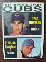 1964 Topps Set Break #469 Cubs Rookies FREE SHIPPING