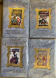 Marvel Masterworks Captain America vol 1 2 3 4 set variants low print RARE OOP