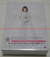 AKB48 Watanabe Mayu Graduation Concert First Limited Edition DVD Japan AKB-D2373