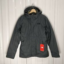 NEW Mens The North Face Alteo Triclimate UK Size Small Grey Waterproof Jacket