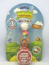 Moshi Monsters  3 Pack  Series 1 Flumpy, Gingersnap and 1 mystery Ages 6+ NEW