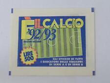 BUSTINA FIGURINE A.I.C.  92/93 E' IL CALCIO [BUS-093]