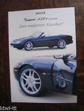 Timpert AZEV Jaguar XK8 Coupe + Cabriolet Prospektblatt / Sales sheet, D
