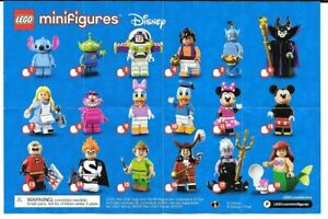 LEGO 71012 Disney Series 1 Collectable Minifigures - Pick A Character!