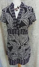 Rocha john Rocha leaf print dress size 18