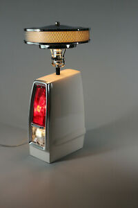 1966-67 Muscle Car Tail Light Table Air Cleaner Lamp White 66LCWHT Wheel Unique