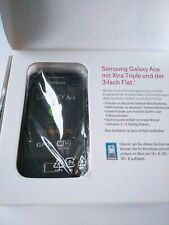 Samsung Galaxy Ace GT-S5830 Onyx Black (T-Mobile) Smartphone Handy Android 3G