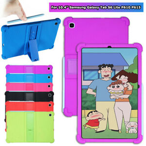 Kids Stand Case for Samsung Galaxy Tab S6 Lite P610 P615 Shockproof Soft Cover