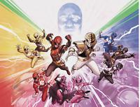 Mighty Morphin Power Rangers #50 Connecting Variant cvr A & B Boom Comic 2020 NM
