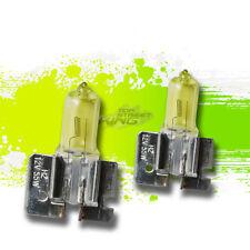 H2 3000K PAIR HALOGEN GAS AMBER REPLACEMENT FOG LIGHT BULBS JAGUAR/LINCOLN/FORD