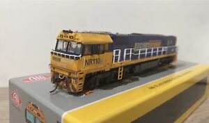 AUSCISION MODELS Pacific National NR110 Locomotive (DC) Weathered