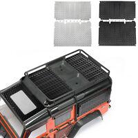 Für 1/10 TRAXXAS TRX4 Defender RC Car Metallgepäckträger Antirutschplatte