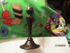 Vintage Turned Wood Candle Stick