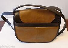 Tignanello Vintage Status  Leather Saddle Bag  WALNUT/BROWN $135