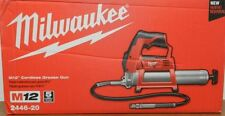 Milwaukee M12 12V Li-Ion Grease Gun (Bare Tool) 2446-20 New