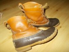 Vintage LL Bean Maine Hunting Boots USA Shoes Women's Size 8