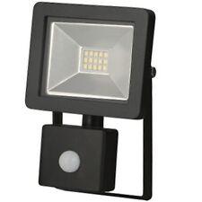 LED 10W MOTION PIR SENSOR SLIM FLOODLIGHT WATERPROOF SECURITY EXTERNAL  LIGHT