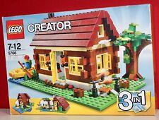 Lego Creator 5766 Log Cabin, Blockhaus, Komplett, OBA, OVP, TOP