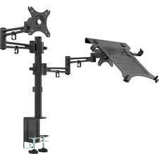 Bramley Power LCD LED Desk Mount Arm Monitor Stand Bracket - Monitor and laptop