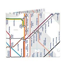 The London Tube Bifold Paper Wallet - NEW - The Walart - Mighty Tyvek Dynomighty