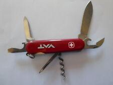 Wenger Adirondack Pocket Knife, (RETIRED), RED, USED