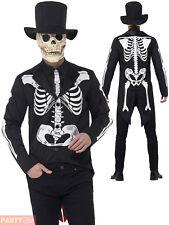 Smiffys 44656L Men's Day of The Dead Senor Skeleton Costume (large)