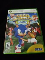 Sega Superstars Tennis Xbox Live Arcade Compilation(Xbox 360, 2008)Tested w/man