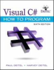 Visual C# How To Program 6th Global Edition