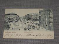 """Ansichtskarte """"Gruss aus Berlin"""" Berlin Potsdamer Brücke gelaufen 1903 (K267)"""