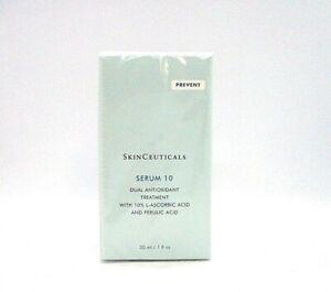 SkinCeuticals Serum 10 Dual Antioxidant Treatment ~ 1 oz / 30 ml / BNIB