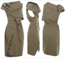 All Saints AMKA trench robe marron taupe beige taille 8 XS