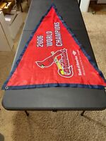 St Louis Cardinals 🔥 2006 World Series Champs BOA Stadium Exclusive Pennant!