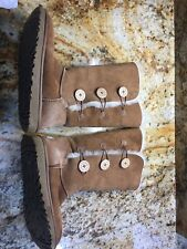 UGG Australia Bailey Button II Triplet Chestnut Tall Boots Uggs Women's 10