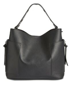 Steve Madden Reba Hobo Crossbody Bag Black