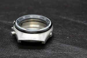 New Mineral Glass Crystal With Black Aluminum Bezel Citizen 8110 spider
