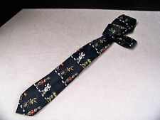 Looney Tunes Tie Football Uniform Characters Youth Necktie 1997 Bugs Sylvester
