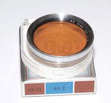 B + W Germany kr12 corrección de filtro warmton para 44mm versión cromo (nuevo/en el embalaje original)