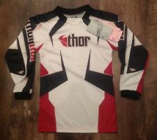 Thor Phase Women's Adult Jersey Size XS Off Road/MX/ATV/Motocross red white