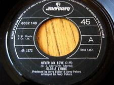 """Gloria Lynne-nunca mi amor 7"""" Vinilo"""