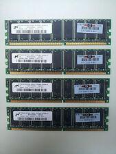 1 GB de memorias DDR 333Mhz CL2.5 MICRON