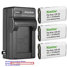 Kastar Battery Wall Charger for Kodak CRV3 EasyShare Z700 Z710 Z740 Z885 Z1275
