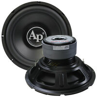 """NEW TSPP312D4 Audiopipe 12"""" Woofer 1600W Max Dual 4 Ohm"""